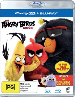 The Angry Birds Movie (3D Edition with 2D Edition) [Blu-ray]