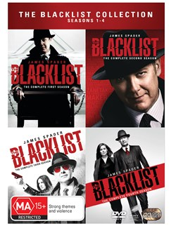 The Blacklist Collection: Seasons 1-4 [DVD]