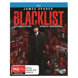 The Blacklist: The Complete First, Second & Third Seasons [Blu-ray]