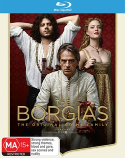 The Borgias: Seasons 1-3 [Blu-ray]
