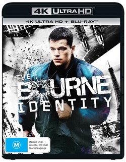 The Bourne Identity (4K Ultra HD + Blu-ray + Digital UV Copy) [Blu-ray]