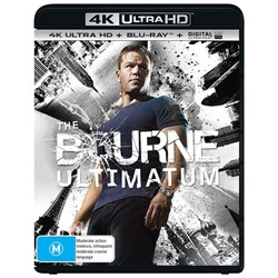 The Bourne Ultimatum (4K Ultra HD + Blu-ray + Digital UV Copy) [Blu-ray]