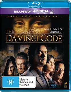 The Da Vinci Code (10th Anniversary Edition) [Blu-ray]