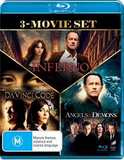 The Da Vinci Code/Angels and Demons/Inferno [Blu-ray]