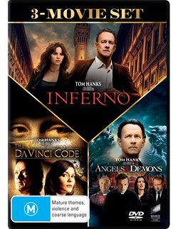 The Da Vinci Code/Angels and Demons/Inferno [DVD]