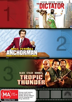 The Dictator/Anchorman - The Legend of Ron Burgundy/Tropic... [DVD]