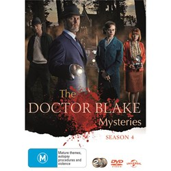 The Doctor Blake Mysteries: Series Four [DVD]