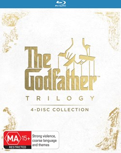 The Godfather Trilogy (Box Set) [Blu-ray]