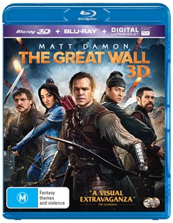 The Great Wall (3D Edition with 2D Edition + Digital Download) [Blu-ray]