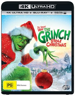 The Grinch (4K Ultra HD + Blu-ray + Digital Download) [UHD]
