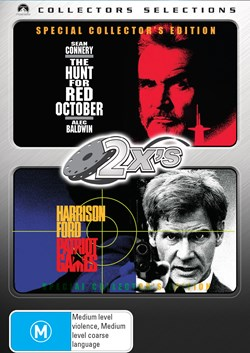 The Hunt for Red October/Patriot Games [DVD]