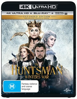 The Huntsman - Winter's War (4K Ultra HD + Blu-ray + Digital UV Copy) [Blu-ray]