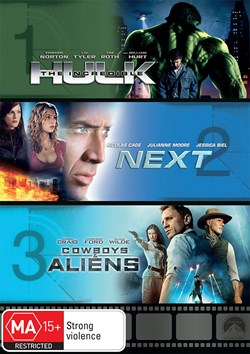 The Incredible Hulk/Next/Cowboys & Aliens [DVD]
