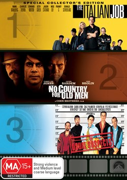 The Italian Job/No Country for Old Men/The Usual Suspects [DVD]