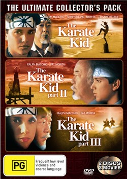 The Karate Kid/The Karate Kid 2/The Karate Kid 3 [DVD]