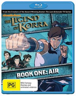 The Legend of Korra: Book One - Air [Blu-ray]