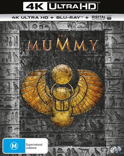 The Mummy (4K Ultra HD + Blu-ray + Digital UV Copy) [Blu-ray]