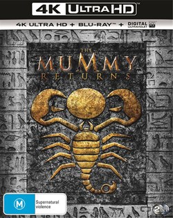 The Mummy Returns (4K Ultra HD + Blu-ray + Digital UV Copy) [Blu-ray]