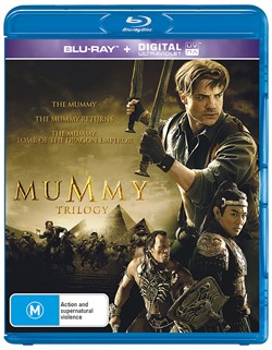 The Mummy/The Mummy Returns/The Mummy: Tomb of the Dragon Emperor (Box Set) [Blu-ray]