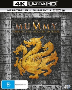The Mummy: Tomb of the Dragon Emperor (4K Ultra HD + Blu-ray + Digital UV Copy) [Blu-ray]