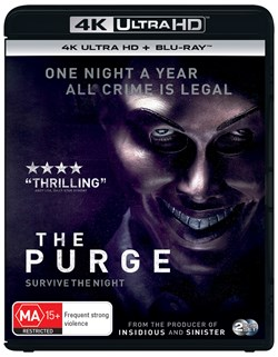 The Purge (4K Ultra HD + Blu-ray) [UHD]