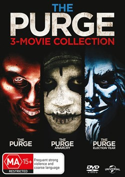 The Purge: 3-movie Collection [DVD]