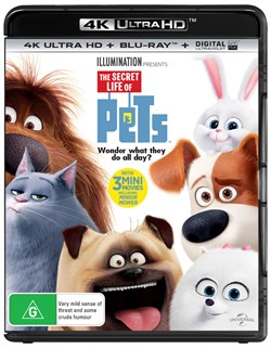 The Secret Life of Pets (4K Ultra HD + Blu-ray + Digital UV Copy) [Blu-ray]