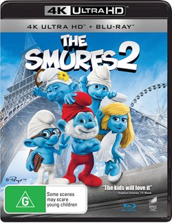 The Smurfs 2 (4K Ultra HD + Blu-ray) [UHD]