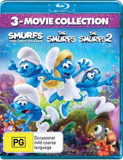 The Smurfs 3-movie Collection [Blu-ray]