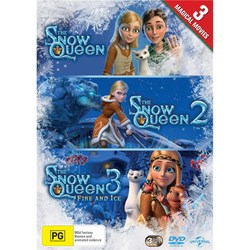 The Snow Queen/The Snow Queen 2/The Snow Queen 3: Fire and Ice [DVD]