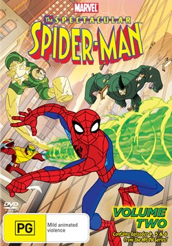 The Spectacular Spider-Man: Volume Two [DVD]