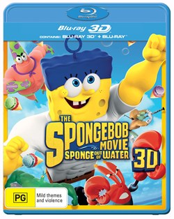The SpongeBob Movie: Sponge Out of Water (3D Edition with 2D Edition + UltraViolet Copy) [Blu-ray]