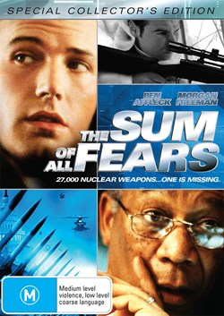 The Sum of All Fears [DVD]