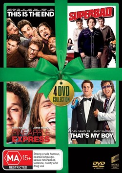This Is the End/Superbad/Pineapple Express/That's My Boy [DVD]