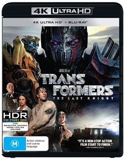 Transformers - The Last Knight (4K Ultra HD + Blu-ray) [UHD]