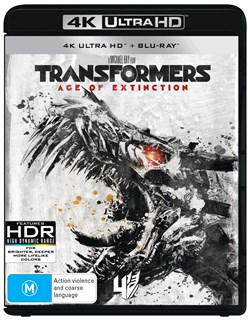 Transformers: Age of Extinction (4K Ultra HD + Blu-ray) [UHD]
