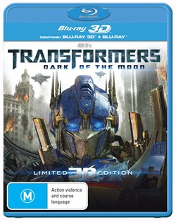 Transformers: Dark of the Moon (3D Edition with 2D Edition) [Blu-ray]