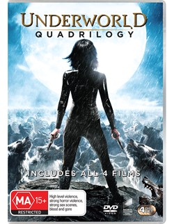 Underworld Quadrilogy [DVD]