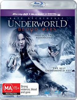 Underworld: Blood Wars (3D Edition with 2D Edition + Digital Download) [Blu-ray]