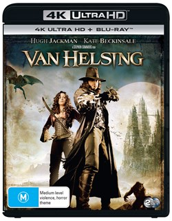 Van Helsing (4K Ultra HD + Blu-ray + Digital UV Copy) [Blu-ray]