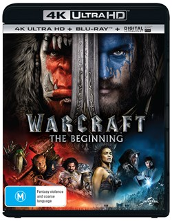 Warcraft: The Beginning (4K Ultra HD + Blu-ray + Digital UV Copy) [Blu-ray]