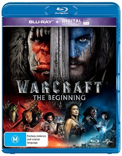 Warcraft: The Beginning (with UltraViolet Copy) [Blu-ray]
