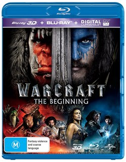Warcraft: The Beginning (3D Edition + UltraViolet Copy) [Blu-ray]