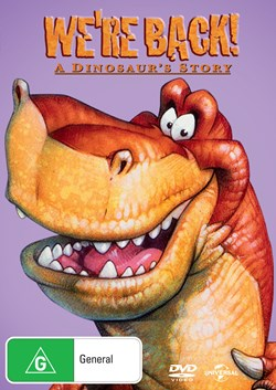 We're Back! A Dinosaur's Story [DVD]