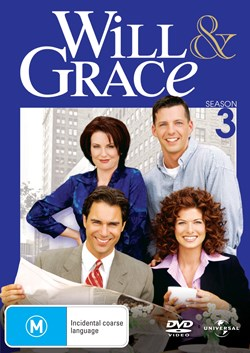 Will and Grace: The Complete Series 3 [DVD]