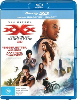 xXx - The Return of Xander Cage (3D Edition with 2D Edition) [Blu-ray]