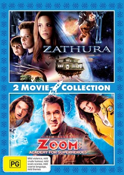 Zathura/Zoom - Academy for Superheroes [DVD]