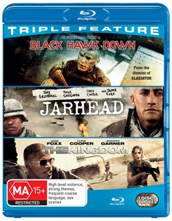 Black Hawk Down/Jarhead/The Kingdom [Blu-ray]