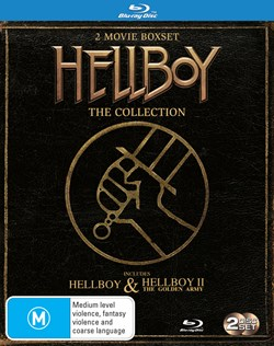 Hellboy/Hellboy 2 - The Golden Army [Blu-ray]