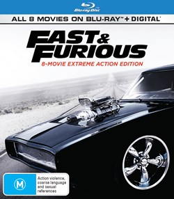 Fast & Furious: 8-movie Collection [Blu-ray]